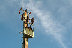 elektricitetsomformning royaltyfri foto