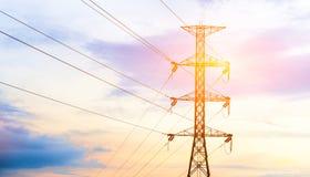 Elektricitetspoler Royaltyfria Foton