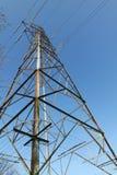 Elektricitetspylon/överföringstorn Royaltyfri Bild