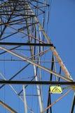 Elektricitetspylon/överföringstorn Royaltyfri Foto
