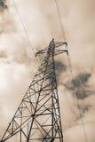 Elektricitetspylon Fotografering för Bildbyråer
