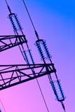 elektricitetspylon Royaltyfria Bilder