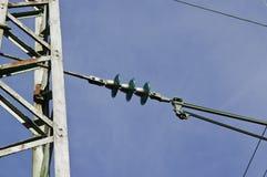 Elektricitetspylon för järnvägar royaltyfri bild