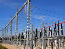 elektricitetsstation Fotografering för Bildbyråer