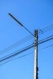 Elektricitetsstolpe Arkivbilder