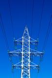 Elektricitetsströmförsörjningspylon Royaltyfri Foto