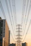Elektricitetstillförsel Arkivbilder