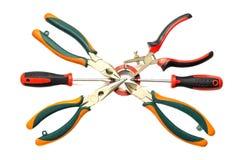 Elektrikerwerkzeuge Lizenzfreie Stockfotografie