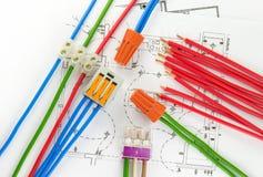 Elektrikerwerkzeuge Stockbild