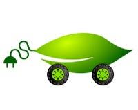 Elektrisch aangedreven auto Stock Afbeelding