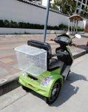 Elektrisch aangedreven autoped stock afbeelding
