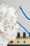 Elektrisch-acupunctuur stock afbeelding