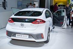 Elektrisch Hyundai IONIQ Royalty-vrije Stock Afbeeldingen