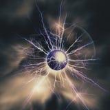Elektrisch onweer Royalty-vrije Stock Afbeeldingen