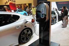 Elektrisch Porsche 2015 royalty-vrije stock foto