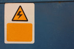Elektrisch teken: Royalty-vrije Stock Foto's