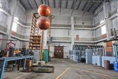 Elektrisch testlaboratorium Royalty-vrije Stock Afbeelding
