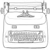 Elektrisch uitstekend Schrijfmachineart. Stock Foto