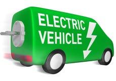 Elektrisch voertuig royalty-vrije illustratie