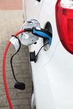 Elektrisch voertuig Royalty-vrije Stock Afbeeldingen