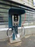Elektrisch voertuig het laden faciliteiten Royalty-vrije Stock Foto