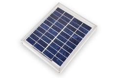 Elektrisch zonnepaneel Stock Afbeeldingen