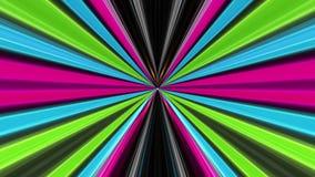 Elektrische abstrakte Faser-Kabel-Animation, Hintergrund übertragend, Schleife stock video