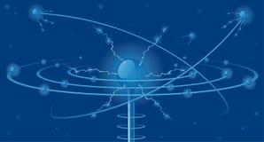 Elektrische Abstraktion Lizenzfreie Stockfotos