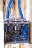 Elektrische afzet Stock Foto