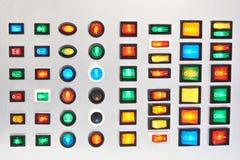 Elektrische Anfangsstop-schalter lizenzfreie stockbilder