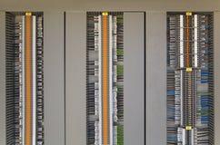 Elektrische Anschlüsse und Drähte Lizenzfreie Stockbilder