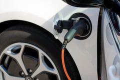 Elektrische Auto Stock Afbeelding