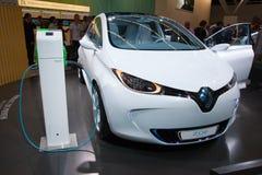 Elektrische auto Royalty-vrije Stock Foto's