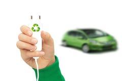 Elektrische auto's Royalty-vrije Stock Foto's