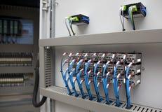 Elektrische Automatisierung stockfotos