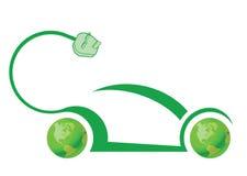 Elektrische autotechnologie Stock Afbeelding