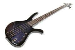 Elektrische bas-gitaar Royalty-vrije Stock Afbeeldingen