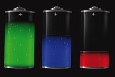 Elektrische Batterie lizenzfreie abbildung
