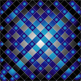 Elektrische blaue Gitterbeschaffenheit Stockbild