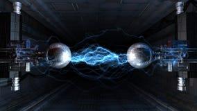 Elektrische boog Stock Foto