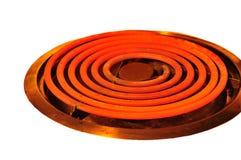 Elektrische brander in macro Stock Afbeelding