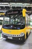 Elektrische bus Royalty-vrije Stock Afbeelding