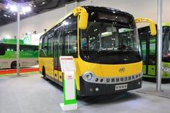 Elektrische bus Royalty-vrije Stock Foto