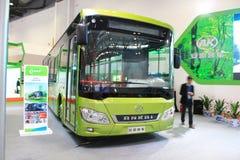 Elektrische bus Stock Afbeelding