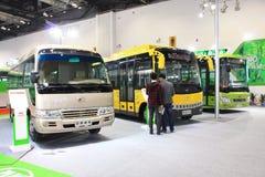 Elektrische bus Stock Foto