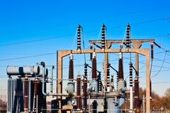 Elektrische centrale royalty-vrije stock afbeeldingen