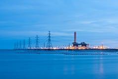Elektrische centrale Stock Foto