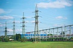 Elektrische centrale Royalty-vrije Stock Foto's