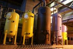 Elektrische centrale Stock Fotografie