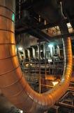 Elektrische centrale Binnen Royalty-vrije Stock Afbeeldingen